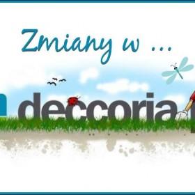 Zmiany w Deccoria.pl