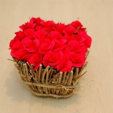 Karolajn-koszyk kwiatów