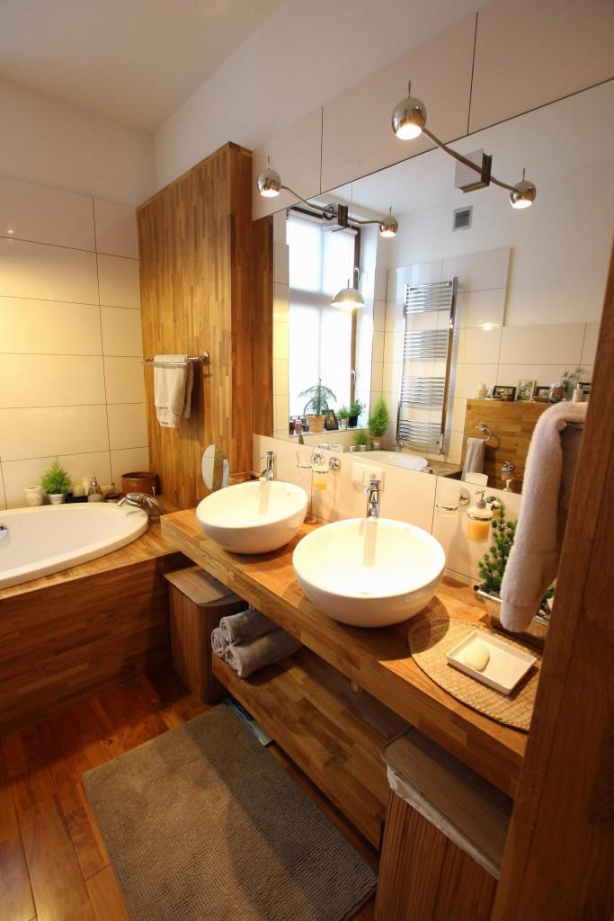 Naturalna łazienka W Drewnie Oraz Naturalne Sposoby Na