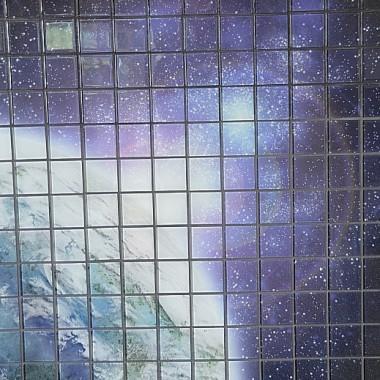 """fotomozaika szklana """"kosmos"""""""
