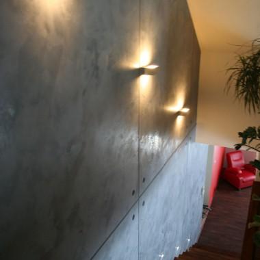 Efekt betonowej ściany
