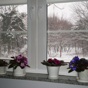 Śnieg jest piękny z ciepłego miejsca.