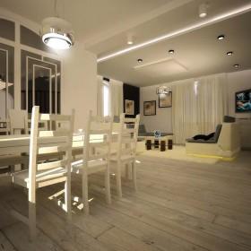 Projekt salonu dziennego