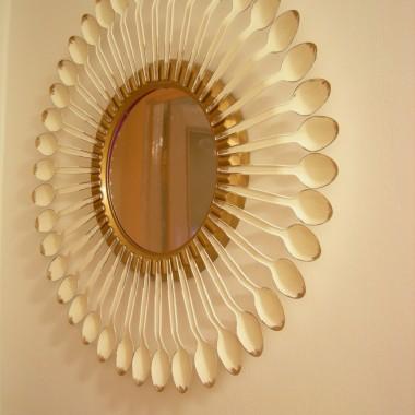 lustro-dekoracja ściany