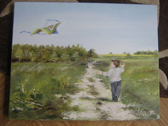 Chłopiec z latawcem