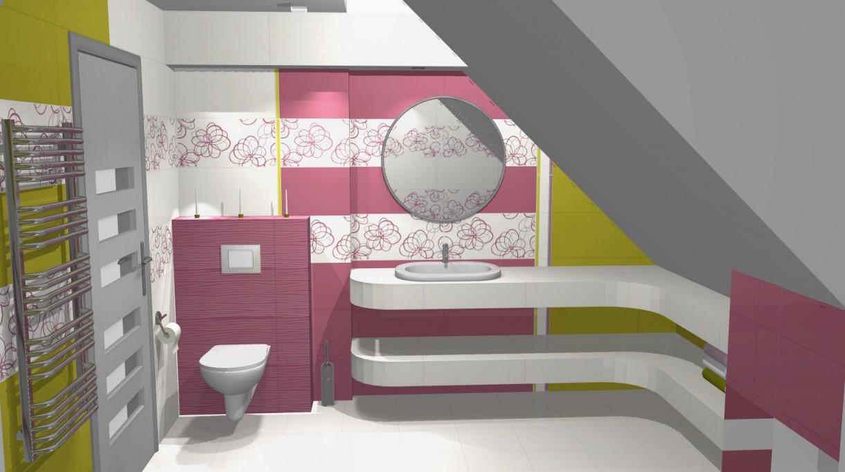 łazienki Wizualizacje Deccoriapl