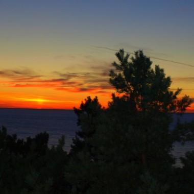 Zachód słońca z balkonu :-)))