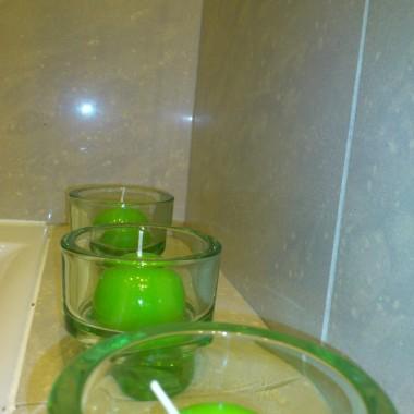 trochę zielonego w łazience