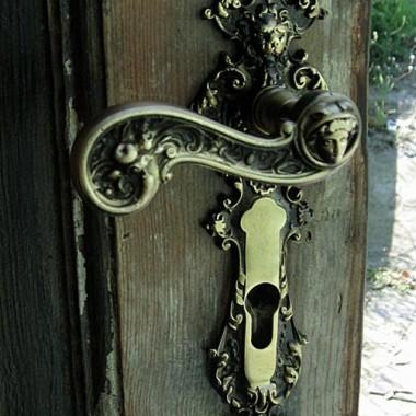 mosiężne klamki do drzwi stylowe Retro & Vintage