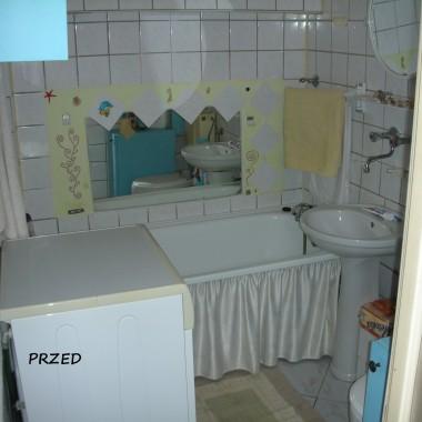 Metamorfoza łazienki.