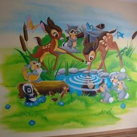 Malunki na ścianach dla dzieci i nie tylko