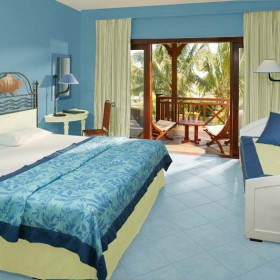 niebieska sypialnia???