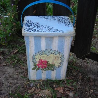 pudełko na proszek do prania