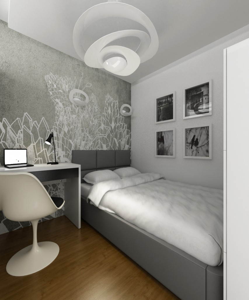 Pozostałe, Projekt mieszkania 31m2 Katowice - http://altrostudio.com.plhttp://www.facebook.com/biuro.altrostudio