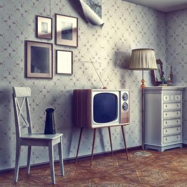 Wnętrza w stylu lat 60.