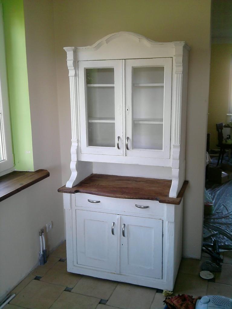 Zdjęcie 16 W Aranżacji Bielona Kuchnia Z Starej Deski