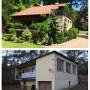 Domy i mieszkania, Modernizacja domu z lat 50' - Metamorfoza starego domu, Pracownia OFFee, przebudowa starego domu, modernizacja domu, metamorfozy domów, przebudowa starego domu, przebudowa kostki, metamorfozy domów, kamienna elewacja, dom w stylu sródziemnomorskim, prowansalski dom