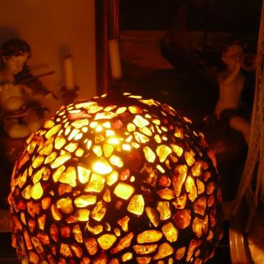 ................i bursztynowa lampa................