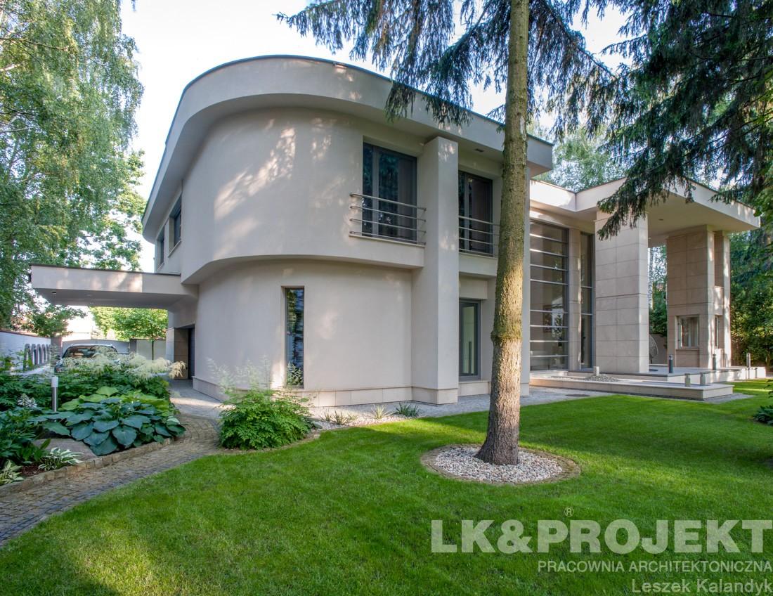 Domy i mieszkania, LK&907 - zdjęcia z realizacji - LK&907 - perspektywa ogrodowa
