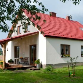 Domek na wsi - zewnętrzna metamorfoza