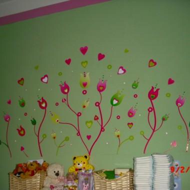 Pokój mojej córci Oliwii