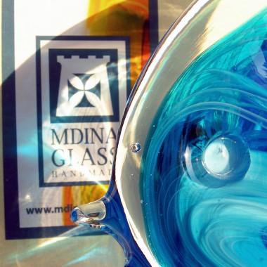 Ryby Mdina Glass