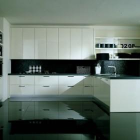 Biel w kuchni