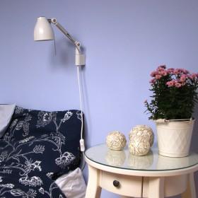 Niebieska sypialnia... mniej niebieska