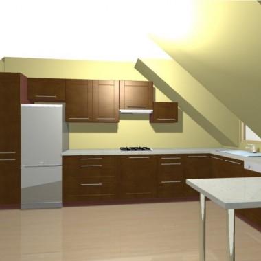 kuchnia( teraz   razedm  z pokojem)po remoncie