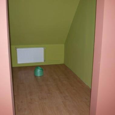 Garderoba gotowa do użycia, pomysł na jej zabudowę tez już jest:)