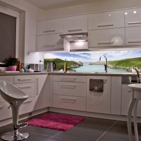 Podświetlane panele kuchenne