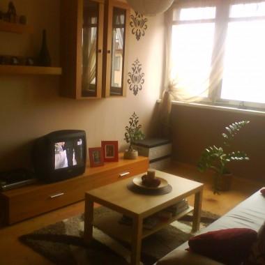 Moje małe mieszkanko:) salonik