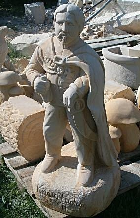 Ogród, Piaskowiec - rzeźby z kamienia naturalnego