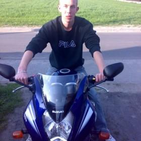 to ja matejko i mój motocykl
