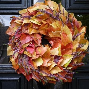 wianki, dynie i ostatni dzien zlotej jesieni...