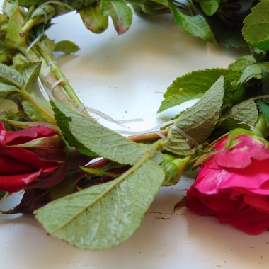 ..............i wianuszek z róż.................