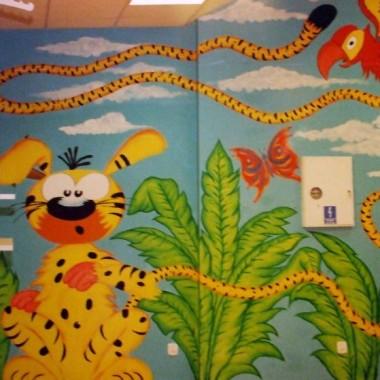 Malowidła ścienne dla dzieci
