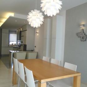 Salon, jadalnia, kuchnia- Przestrzeń otwarta- www.hokogroup.pl