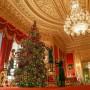 Dekoracje, Świąteczne dekoracje w zamku Windsor