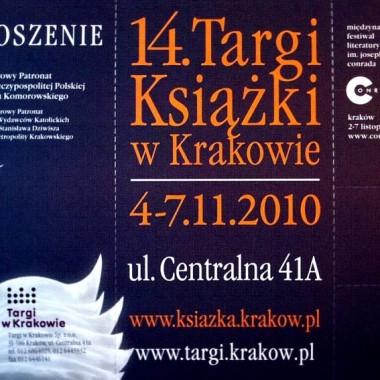 14 Targi Książki w Krakowie