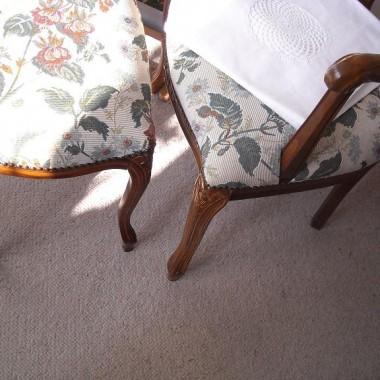 ..................i krzesełko , fotel ................tego nie przemalowałam..............