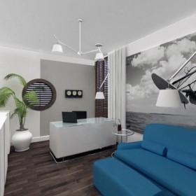 Gabinet dla surfera, dom jednorodzinny