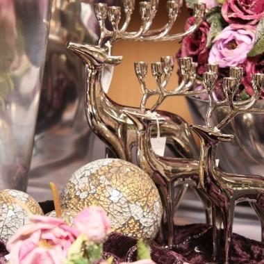 Różowe dekoracje i aranżacje w sklepie Galerii Tendence