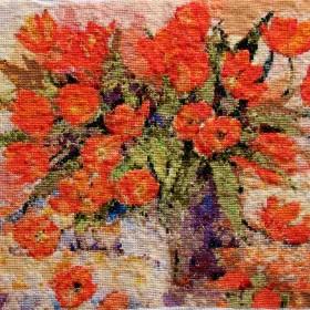 Tulipany wg obrazu Shirley Felts
