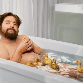Wesoła łazienka sprzyja relaksowi.
