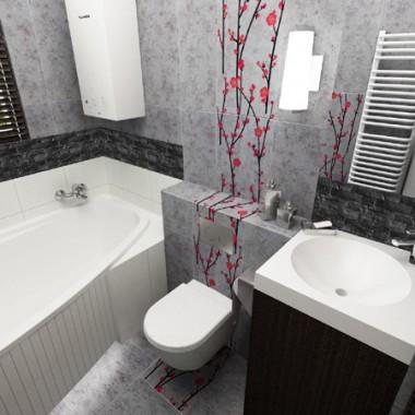 Projekty łazienek // InsideLab pracownia projektowa