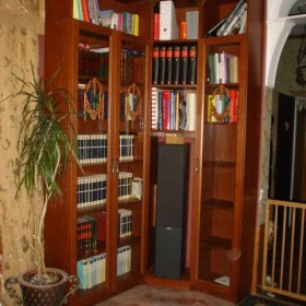 I jeszcze jedna IKEA po tuningu- moja biblioteczka