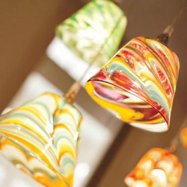 Lampy wiszące Mdina Glass