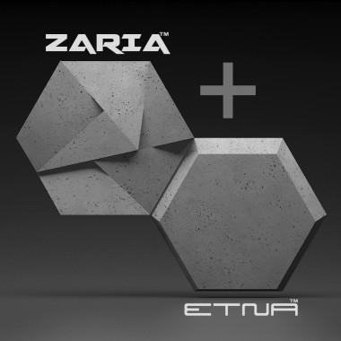 Panel 3d ETNA można łączyć z panelem ZARIA.