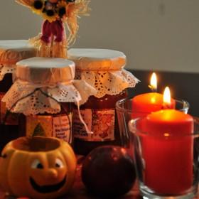 odrobina jesieni zawitała na mój stół